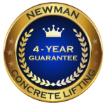 Newman Concrete Lifting 4 Year Guarantee